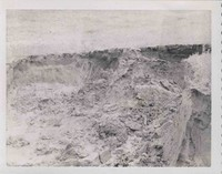 Erosion caused by heavy rains in Plymouth County during June 1971