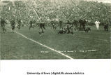 Iowa-Denver football game at Iowa Field, The University of Iowa, October 29, 1927