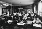 Botany Lab in Beardshear Hall, 1906