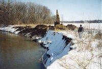 1999 Flint Creek streambank in the winter