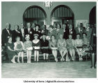Law class of 1911 reunion at Iowa Memorial Union, The University of Iowa, June 10, 1961