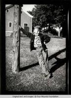 Norm Kirch as a boy