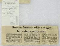 Benton Farmers Advice Sought