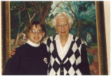 Louise Noun and Lauren McCarthy, Urbandale, Iowa, January, 1997
