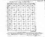Iowa land survey map of t089n, r011w