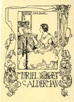 Muriel Alderman Bookplate