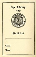 University of Minnesota Library Bookplate