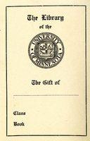 University of Minnesota Library Bookplate