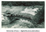 Temple bridge near Xinglong Mountain, 1944
