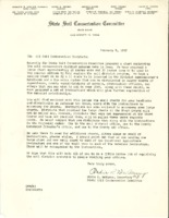 State Soil Conservation Committee Letter