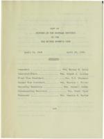 0131 Des Moines Women's Club Minutes 1958-1960