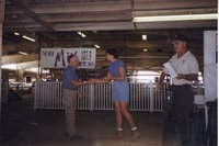 1999 - Virgil Massner of Mediapolis receives Goodyear Cooperator of the Year Award