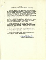 Cedar County Soil Commissioner meeting minutes, 1946-1952