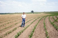 Water management farming practices on the Roepke farm.