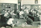 Classroom activities, The University of Iowa elementary school, April 22, 1927