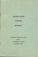 Soil Conservation Awards Banquet Program - 1979