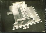 Model of dam spillway, The University of Iowa, 1920s