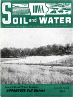 Iowa Soil and Water Journal featuring Appanoose Soil and Water Conservation District, 1961