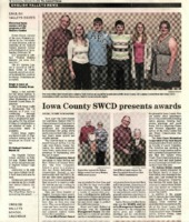 Iowa Valley High School Junior Judging Team receives second