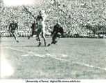 Iowa-Illinois football game, The University of Iowa, October 8, 1949