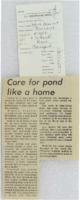 1971 - Care for Farm Pond Like a Home