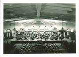 University orchestra playing at the Iowa Memorial Union, The University of Iowa, 1930s