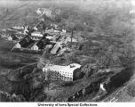Westlawn, Children's Hospital under construction, Iowa City, Iowa, between 1915 and 1919