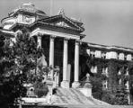 Beardshear Hall portico