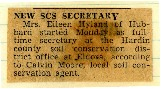 New SCS secretary named for Hardin SCD.