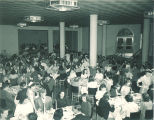 Dining in Quadrangle Residence Hall, the University of Iowa, 1948