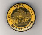 Homecoming badge, October 21, 1944