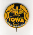 Homecoming badge, November 1, 1941