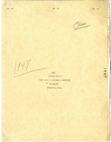 Cass County Soil Conservation District Annual Report - 1947