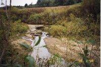 1998 - Bank erosion on Flint Creek on Robert Yeager's property