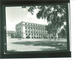 MacLean Hall west facade, the University of Iowa, Jul. 1949