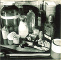 Pharmaceutical compounds in laboratory, The University of Iowa, 1940s