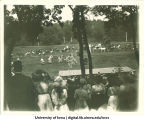 Jousting tournament at City Park for Senior Frolic, The University of Iowa, 1910s