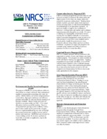 Natural Resources Conservation Service Newsletter, 2003