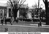 Governor's Day ceremony held on east lawn of Old Capitol, The University of Iowa, 1933