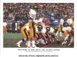 Iowa playing Tennessee in the Peach Bowl, Atlanta, Ga., December 31, 1982