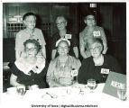 Nursing class of 1916 reunion at Golden Jubilee dinner, The University of Iowa, June 10, 1961