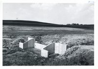 Drop spillway on Chester Gray's land, 1962