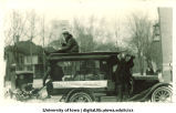 Mecca Day parade float, The University of Iowa, 1920s
