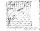 Iowa land survey map of t082n, r043w