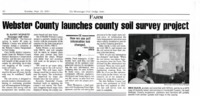 Webster County Launches County Soil Survey Project