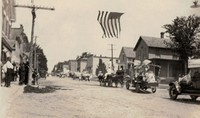 Garnavillo Parade - 1918 July - Main Street