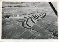 1946 - Aerial view of Soil Conservation Demonstration