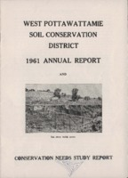 West Pottawattamie County Soil Conservation District Annual Report - 1961