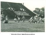Iowa-Wisconsin football game, The University of Iowa, October 2, 1943