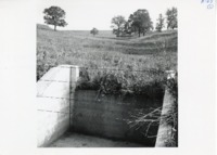 Completed waterway on Bruck's farm, 1967